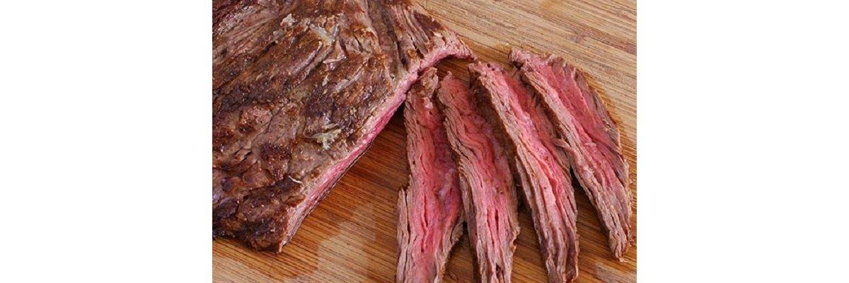 Flap Meat med gulerodspurè