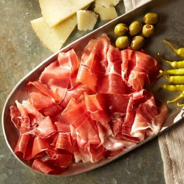 Serrano Sliced <br />Jamonsa 500 gr.