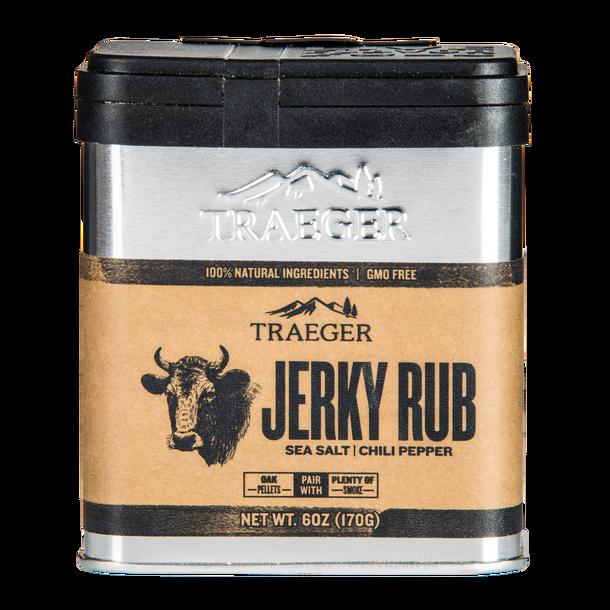 Jerky <br />Traeger Rub