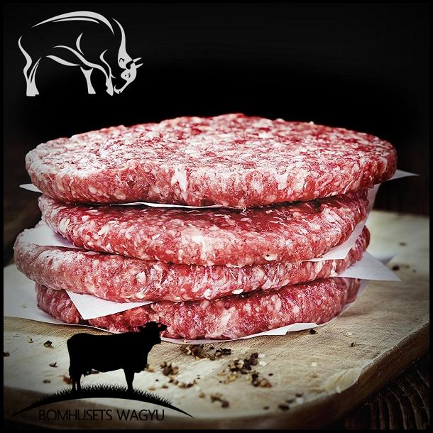 Burger Beef <br />Wagyu MBS 6-7